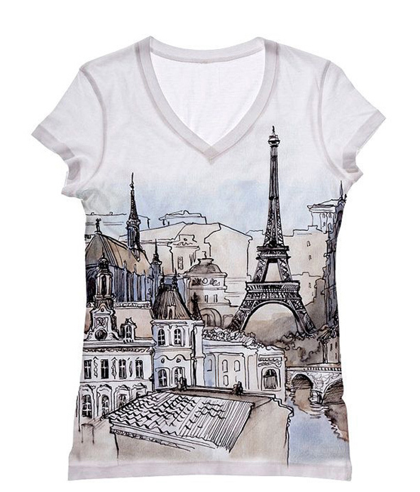 paris, paris t-shirt, t-shirt of cities,