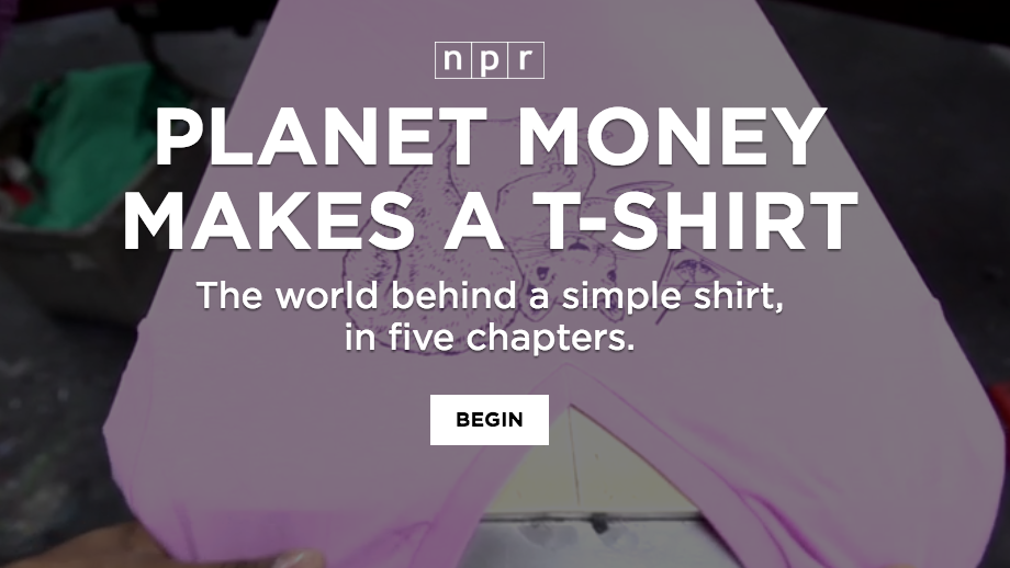 planet money t-shirt