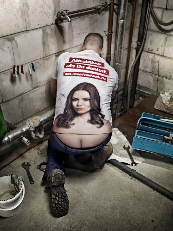 plumber personalised workwear, custom printed t-shirts