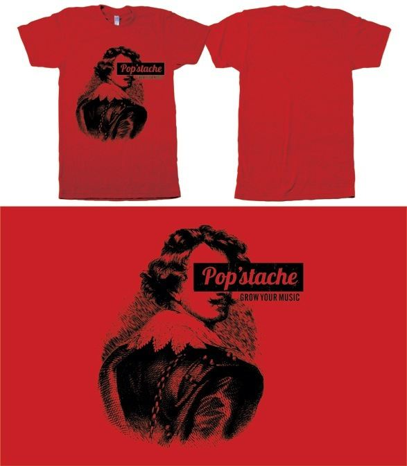 "Popstache ""Start-Up T-shirts"""