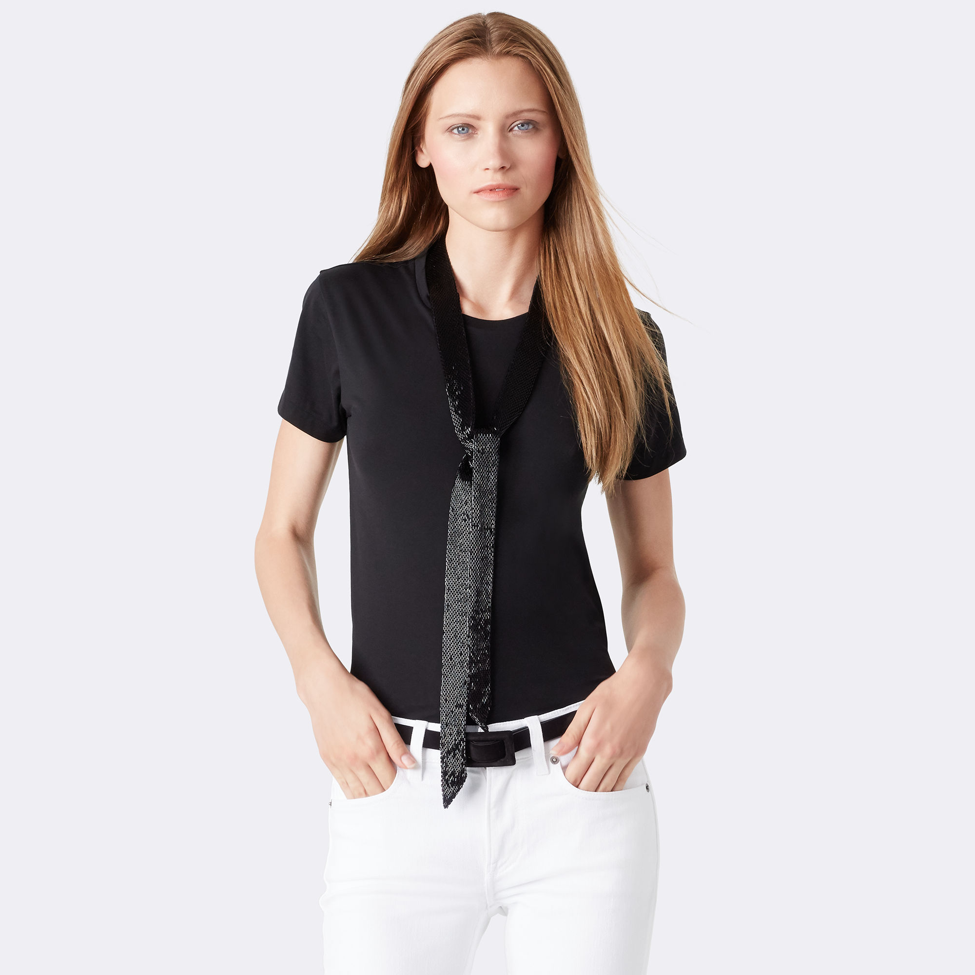 Beaded t-shirt by Ralph Lauren Collection