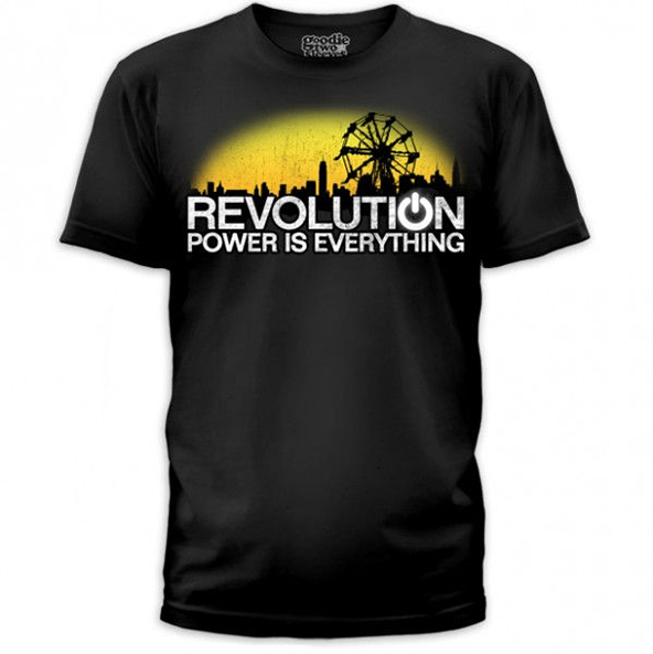 revolution t-shirt, power is everything, power is everything t-shirt, revolution, t-shirt