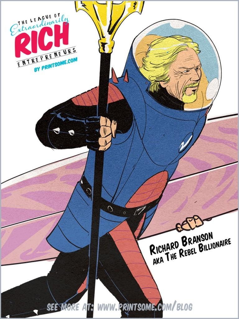 super league of entrepreneurs Richard Branson