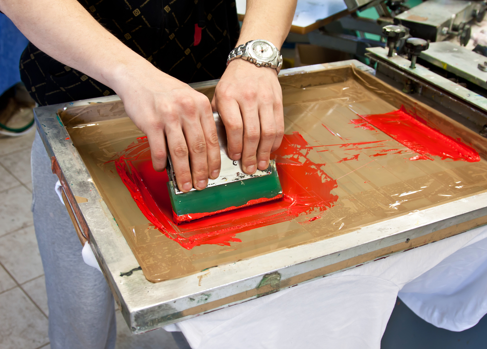 screen printing technique