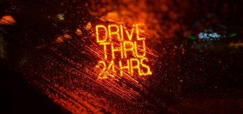 signage, header image, drive thru