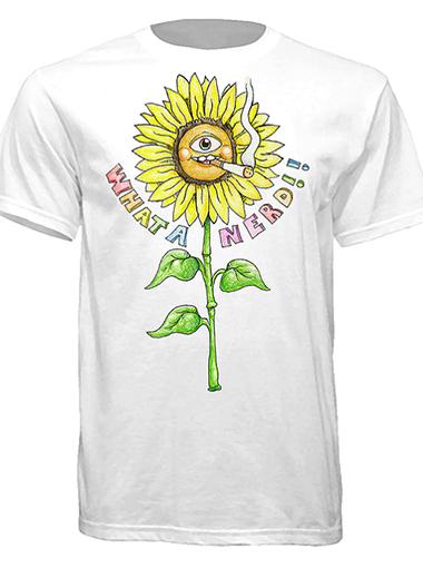 smoking-sunflower-tshirt copy