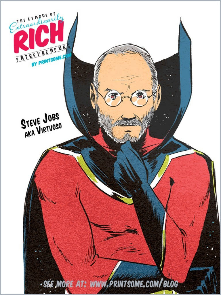 Super League of Heroes Steve Jobs