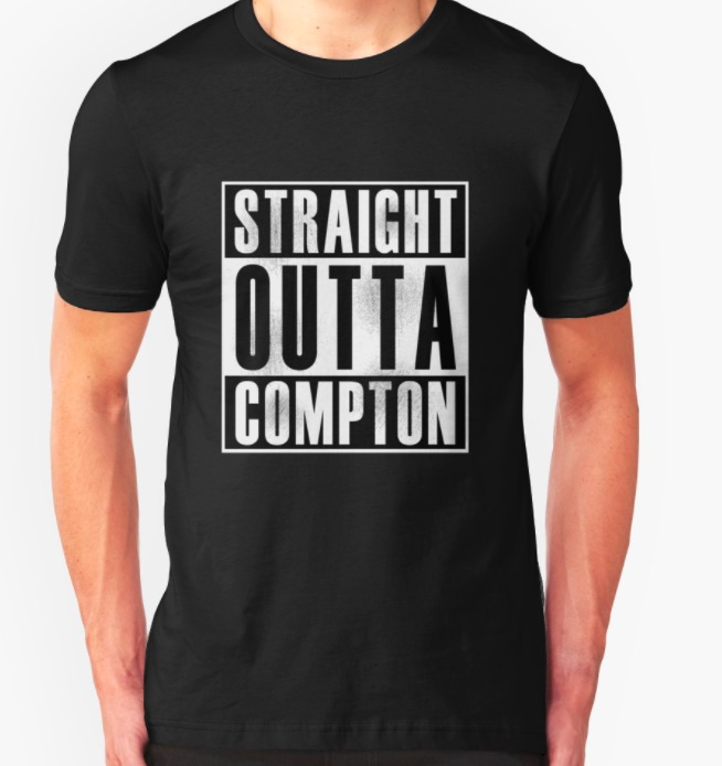 """Straight outta Compton T-shirt"