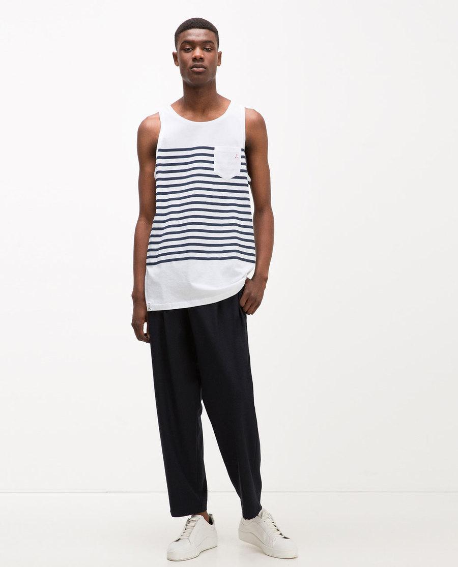 stripe vest
