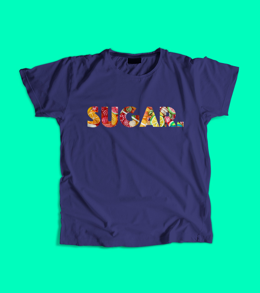 sugar, personalised T-shirt