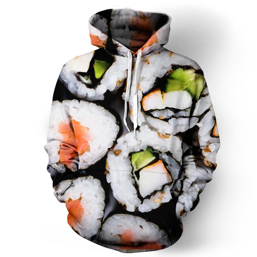 sushi hoodies