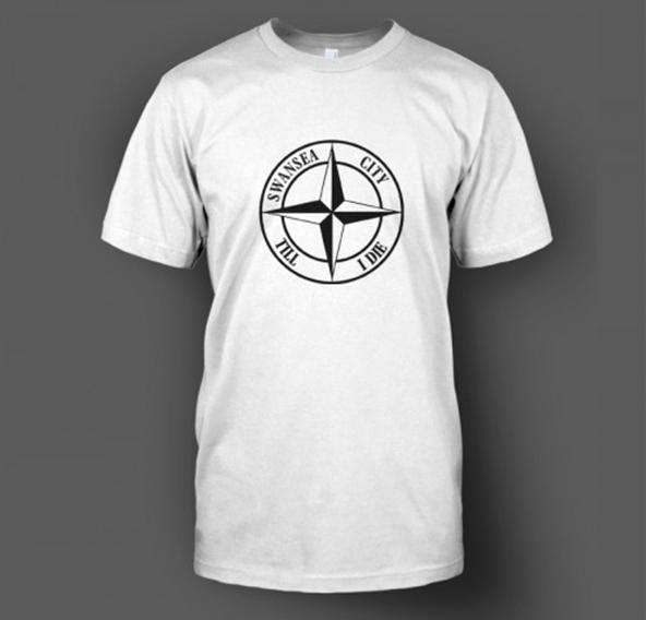 swansea city, premier league, screen printing, t-shirt