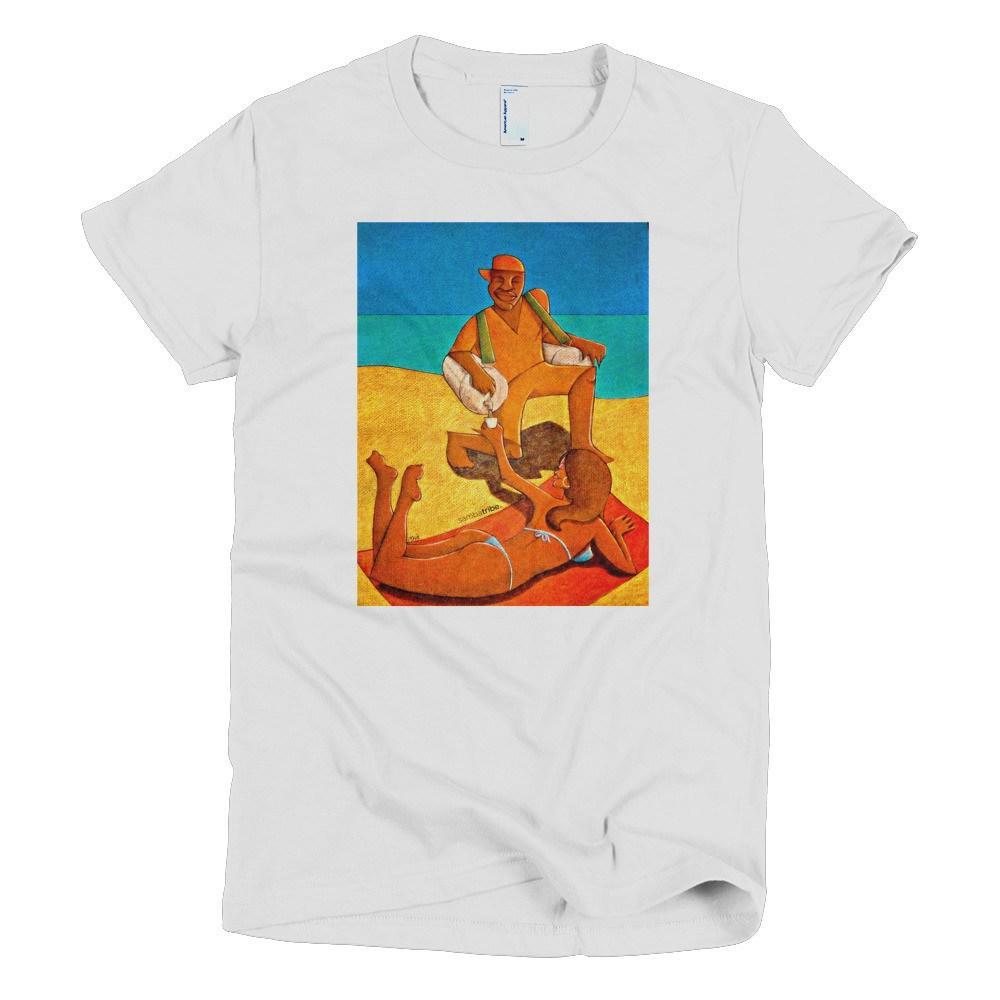 #TshirtTuesday Sambatribe Woman's White T-shirt