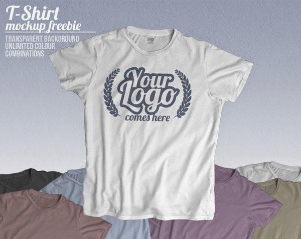 t-shirt mockup, t-shirt template, free t-shirt template