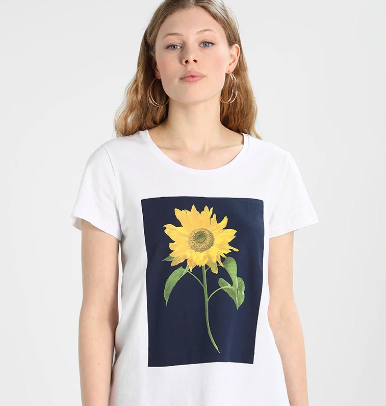t-shirt trends 2018, kaffe, layering,