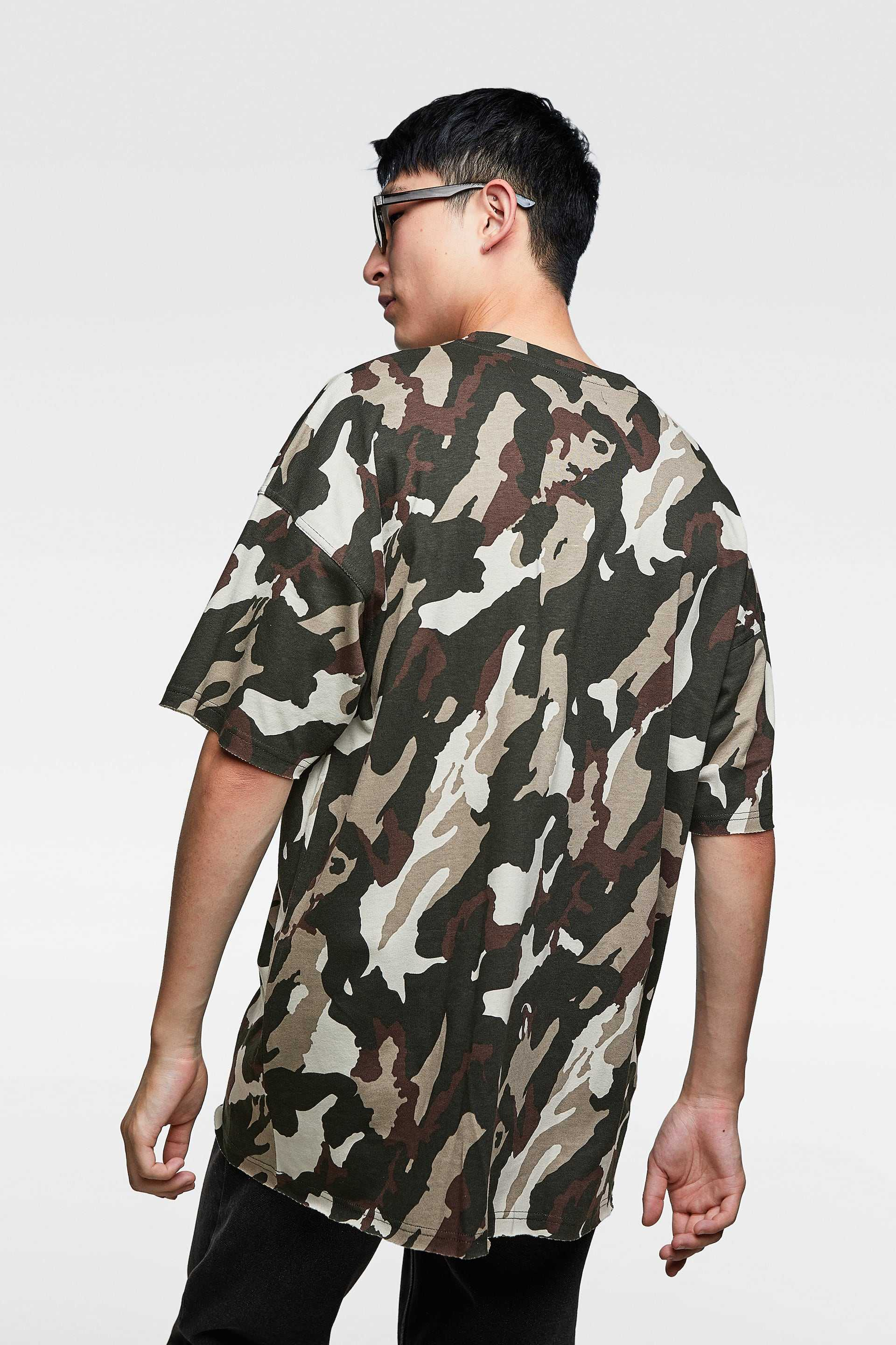 camo, zara, t-shirt trends 2018