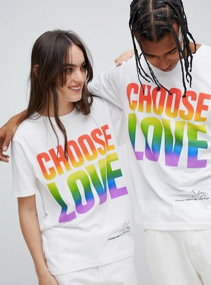 t-shirt trends, asos, slogan, choose life