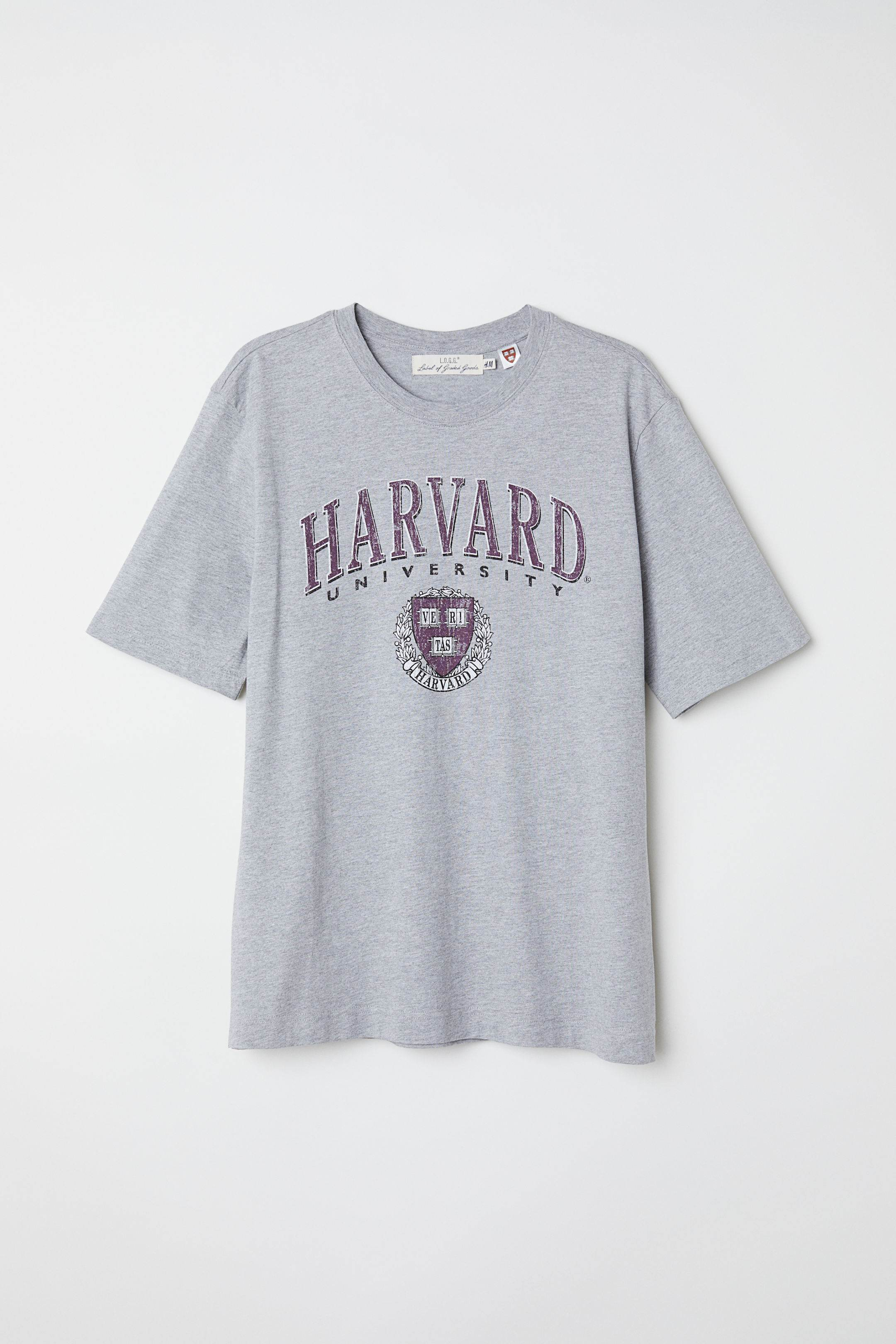 t-shirt trends 2018, harvard, H&M