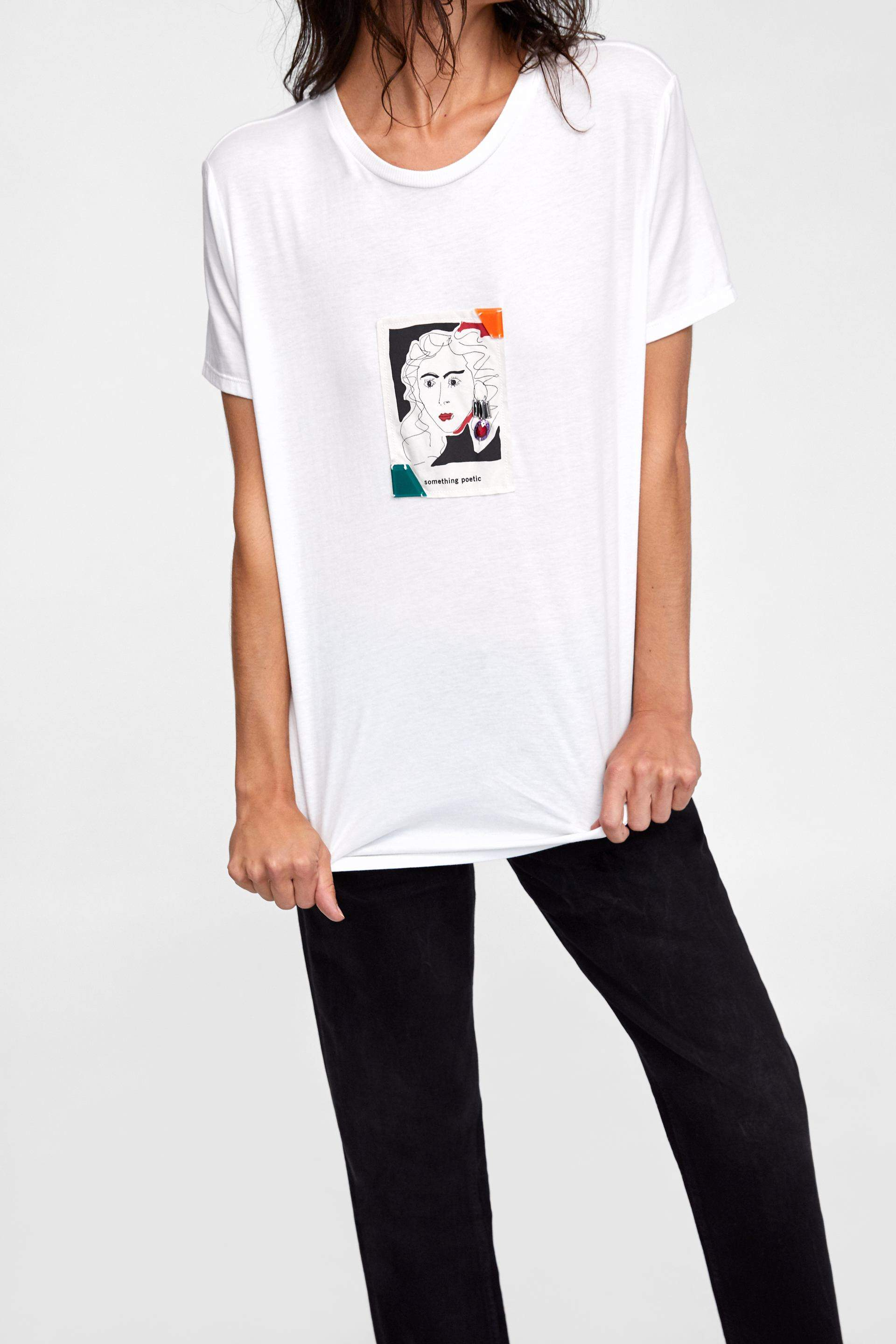 t-shirt trends 2018, trends, fashion, zara