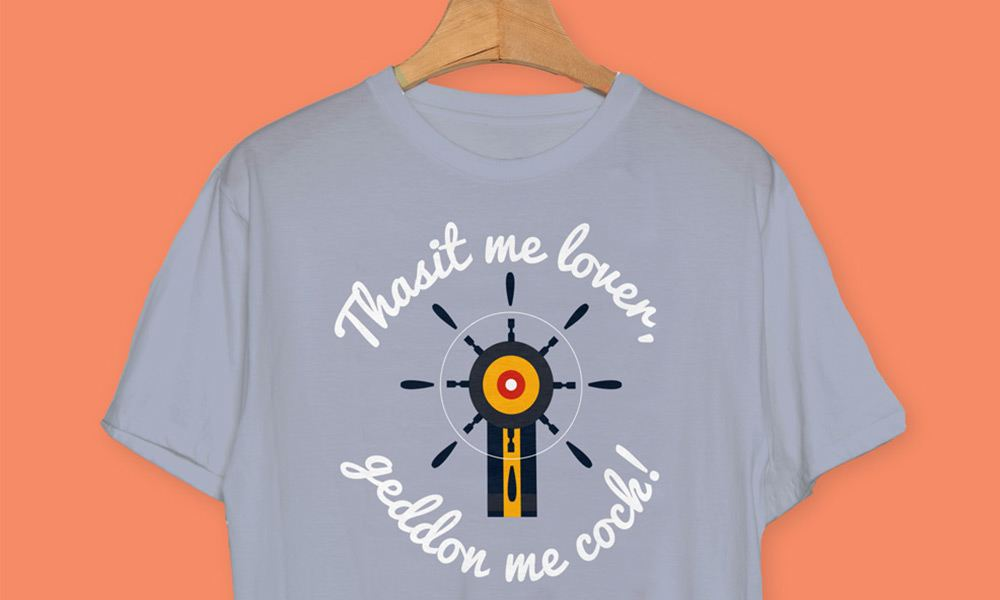 that's me lover - Cornwall T-shirts