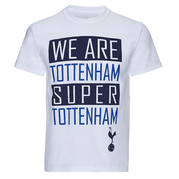 tottenham, hotspurs, premier league, screen printing, t-shirt
