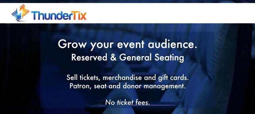 Online ticketing platforms - ThunderTix