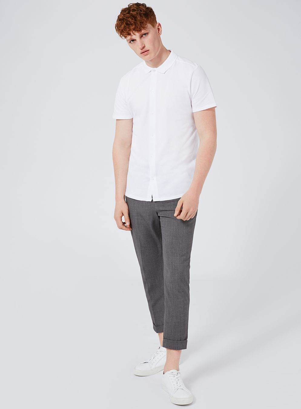 Polo shirt and chinos by Topman - how to wear embroidered polo shirts