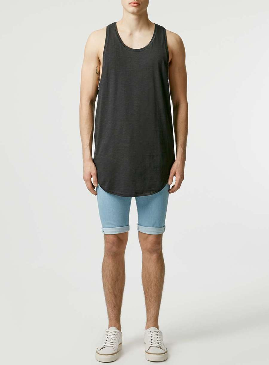 Elongated vest by Topman