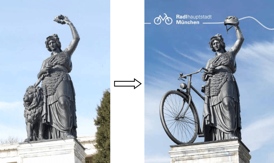 cycling marketing campaigns - Munich