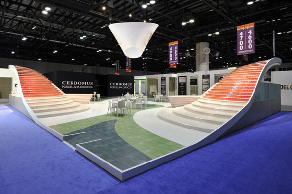 Trade Event Stands : Eye catching trade show stands printsome