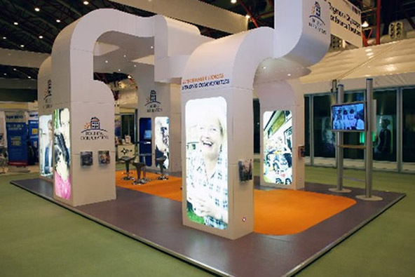 Creative Exhibition Stand : Beautiful trade show stands from events in the uk and