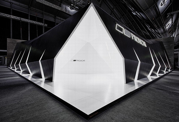 Exhibition Stand Lighting Home : Beautiful trade show stands that inspired and delivered