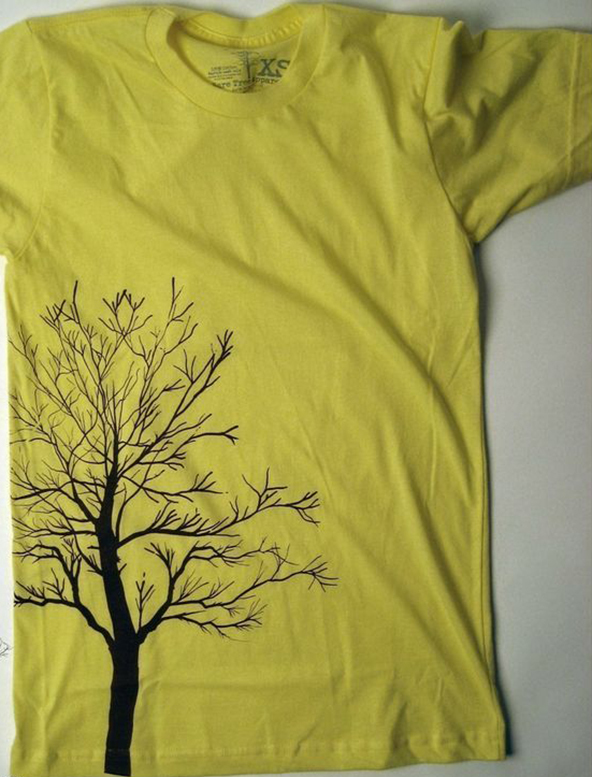 tree, no leaves, naked, autumn, seasonal., t-shirt