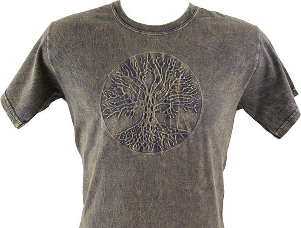trinity tree, 3-d tree, tree t-shirt, autumn