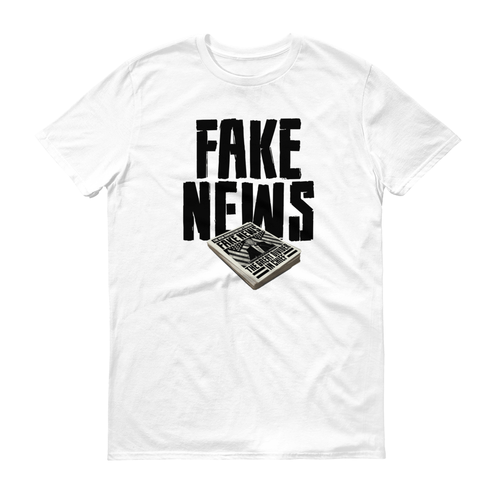 #TshirtTuesday Capital POP Fake News