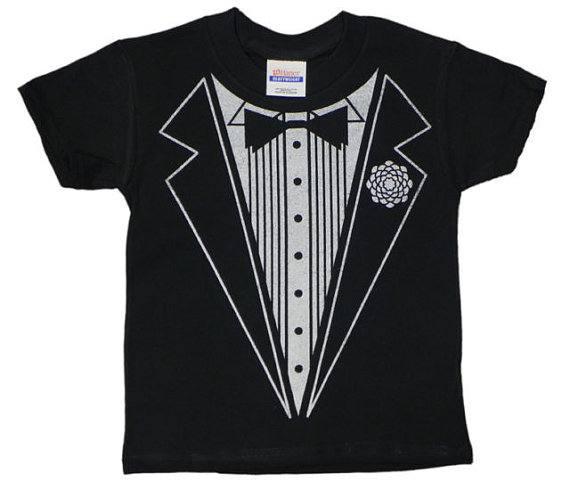 Tuxedo T-shirt - Iconic T-shirts