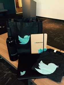 Twitter welcome kit