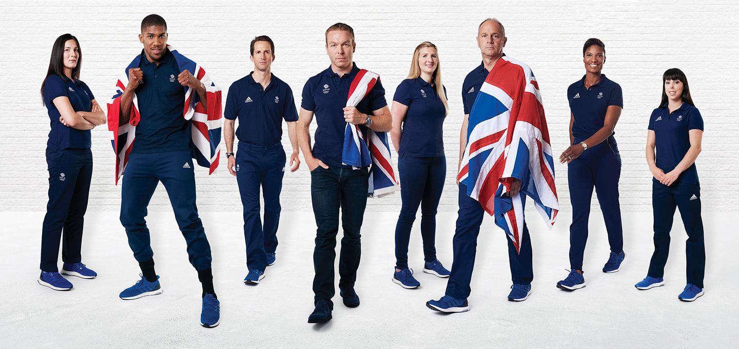 The history of the UK's olympic kit: 120 years of evolution
