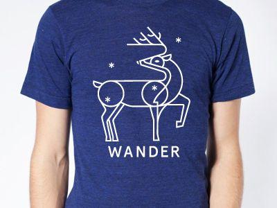 wander startup t-shirt printed