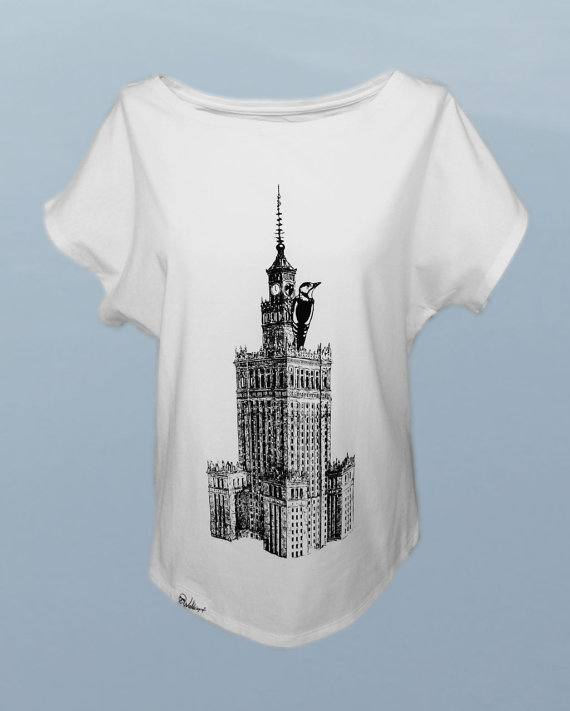 Warsaw, Poland, Tourist T-shirts