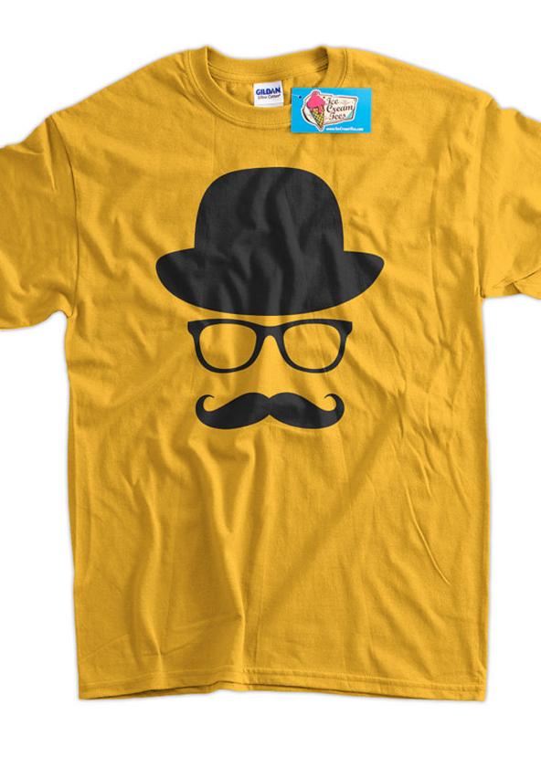yellow hipster t-shirt, hipster t-shirt