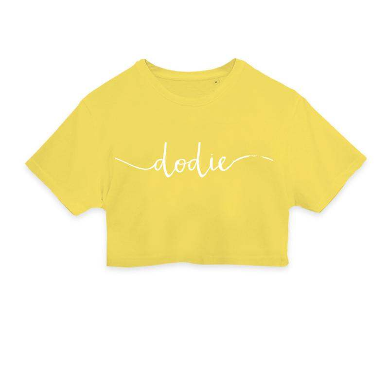 YouTuber Merchandise, Dodie Crop Top