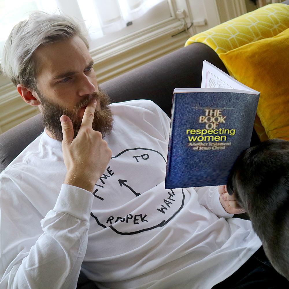 YouTuber Merchandise, PewDiePie, Wahmen T-shirt